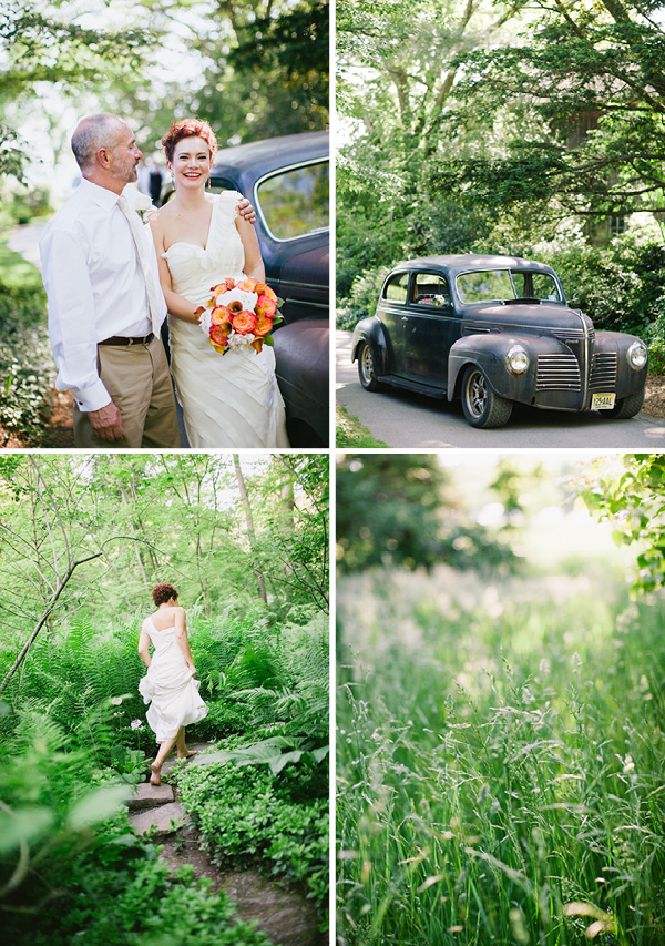 An Outdoor White Tent Wedding In Chester Nj At The Willowwood Arboretum